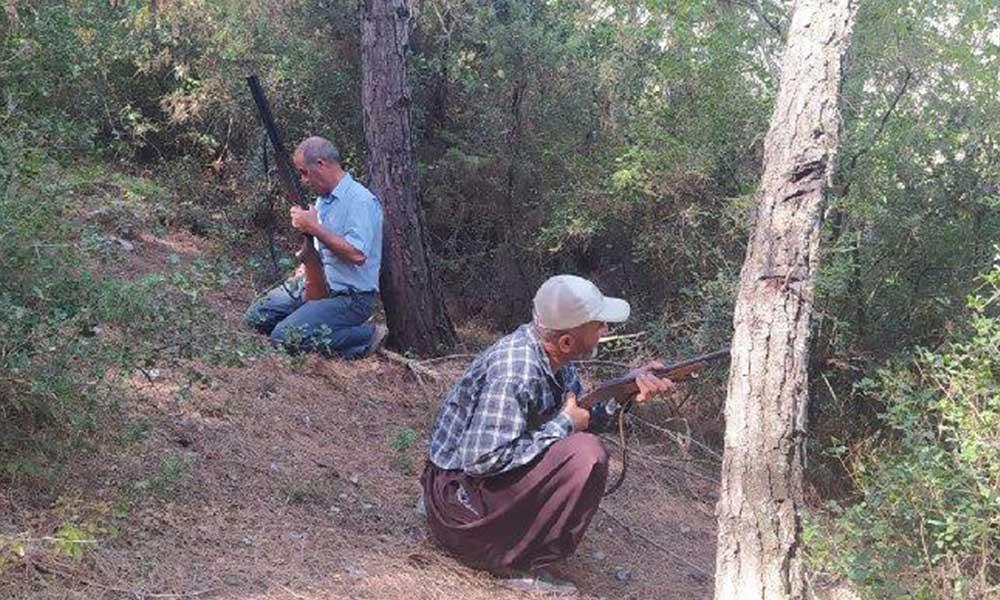 Hatay'daki yangınlardan sonra köylüler nöbet tutmaya başladı