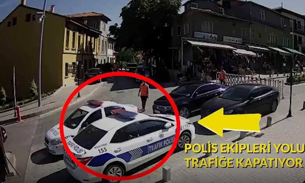 İşte belediye çalışanına çarptığı an! Mansur Yavaş paylaştı