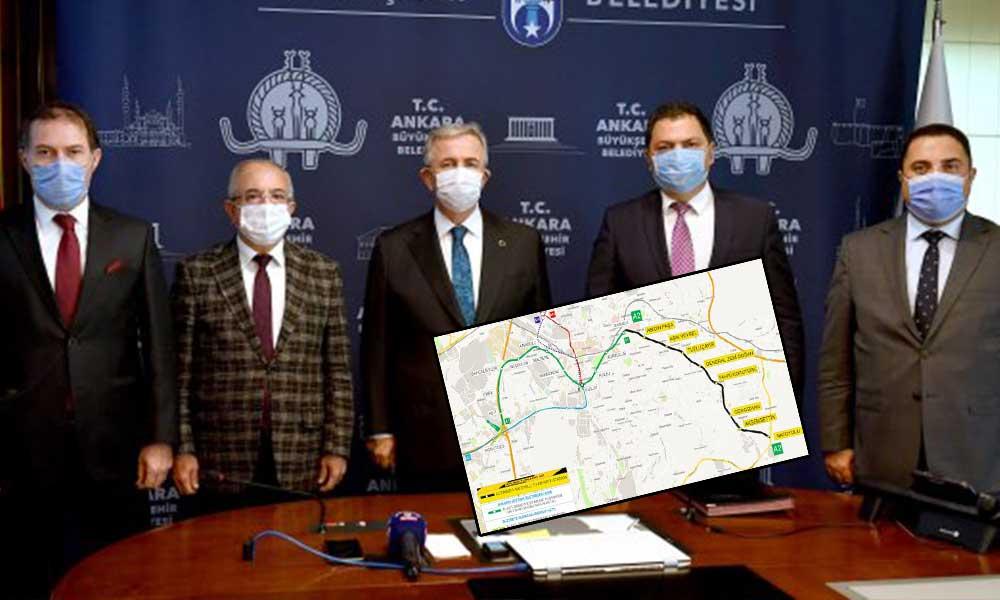 Mansur Yavaş harekete geçti… İşte Ankara'nın yeni metro hattı