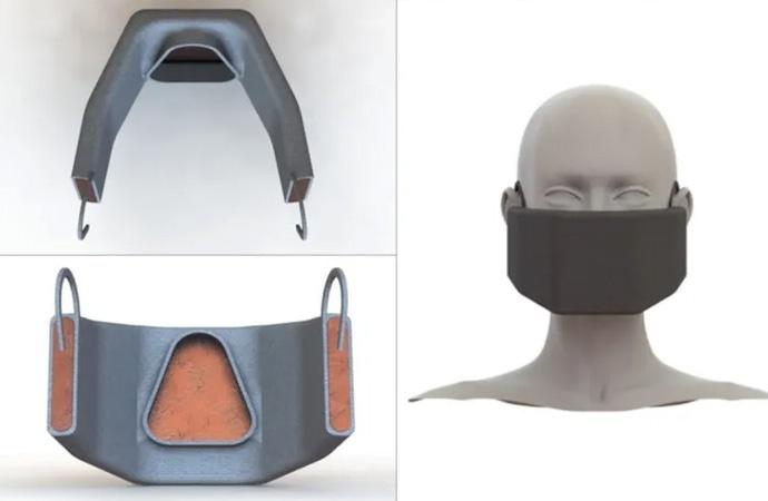 ABD'li mühendislerden koronavirüsü yakan maske