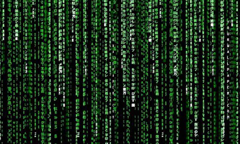 Matrix'teki kayan gizemli kodların sırrı gülümsetti