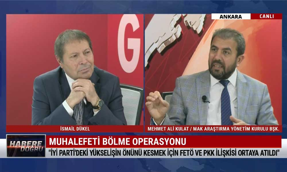 Mehmet Ali Kulat: Şu anda CHP içinden 5 parti çıkarmak gibi bir amaç var