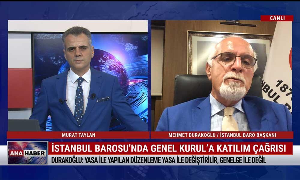 Mehmet Durakoğlu: Ankara ve İzmir'de 2. baronun kurulması için avukatlara ciddi baskılar yapılıyor