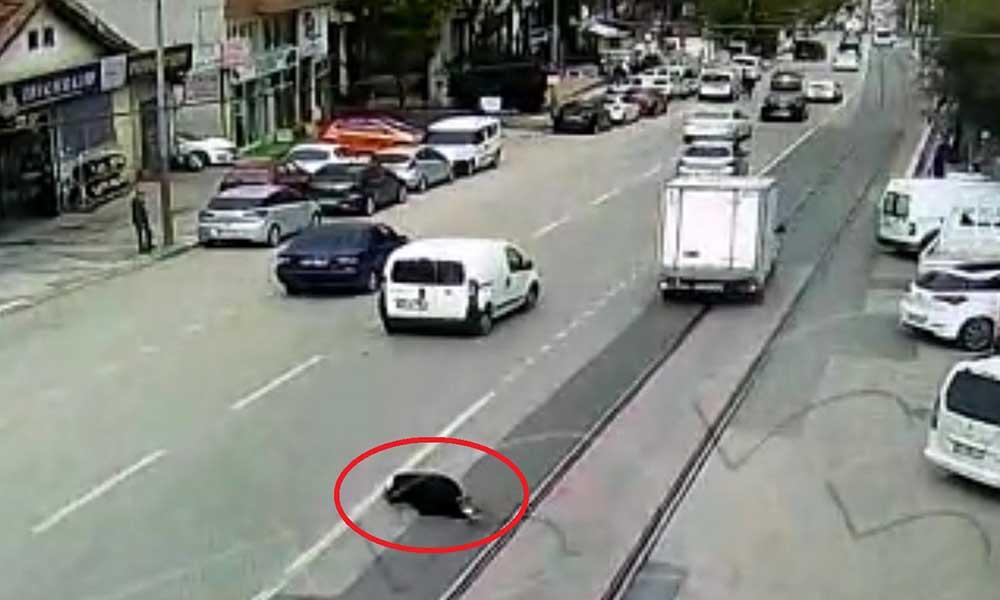 Korkunç kaza! Güvenlik kameralarına böyle yansıdı