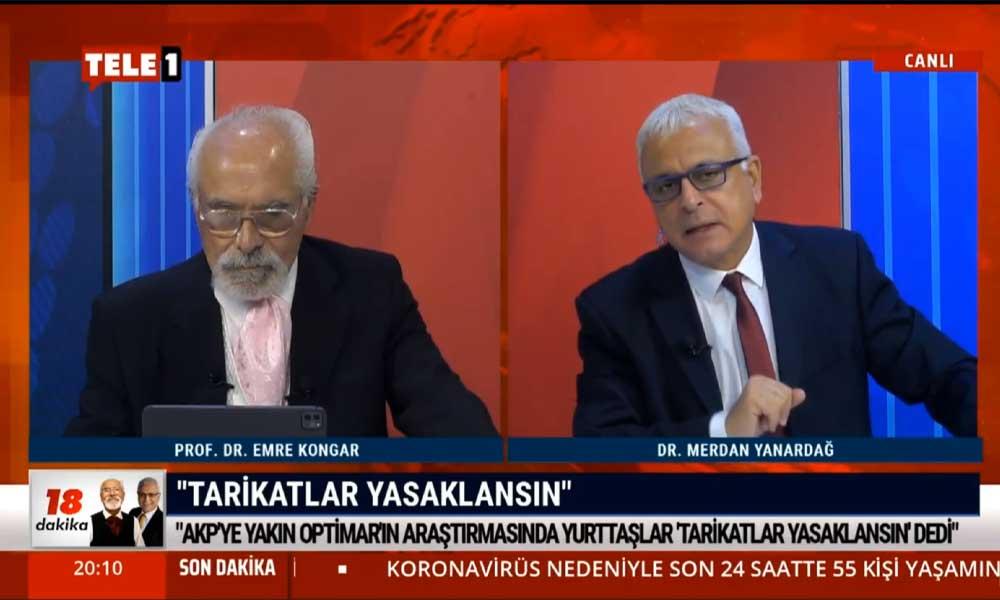 Merdan Yanardağ: AKP'li şirket bu anketi, 'kendimize çeki düzen vermeliyiz, durum kötüye gidiyor' diye yayımladı