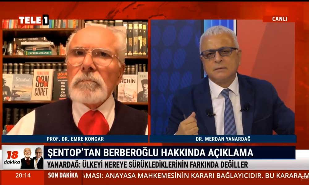 Merdan Yanardağ: Mustafa Şentop bir yanlıştan döndü