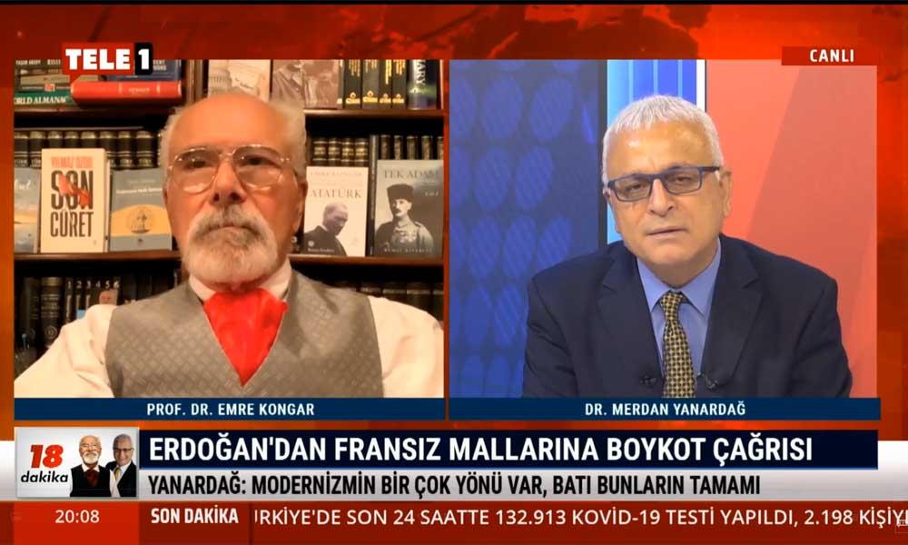 Merdan Yanardağ: Emine Erdoğan'ın 70-80 bin dolarlık çantası Fransız malı, önce oradan boykota başlayın