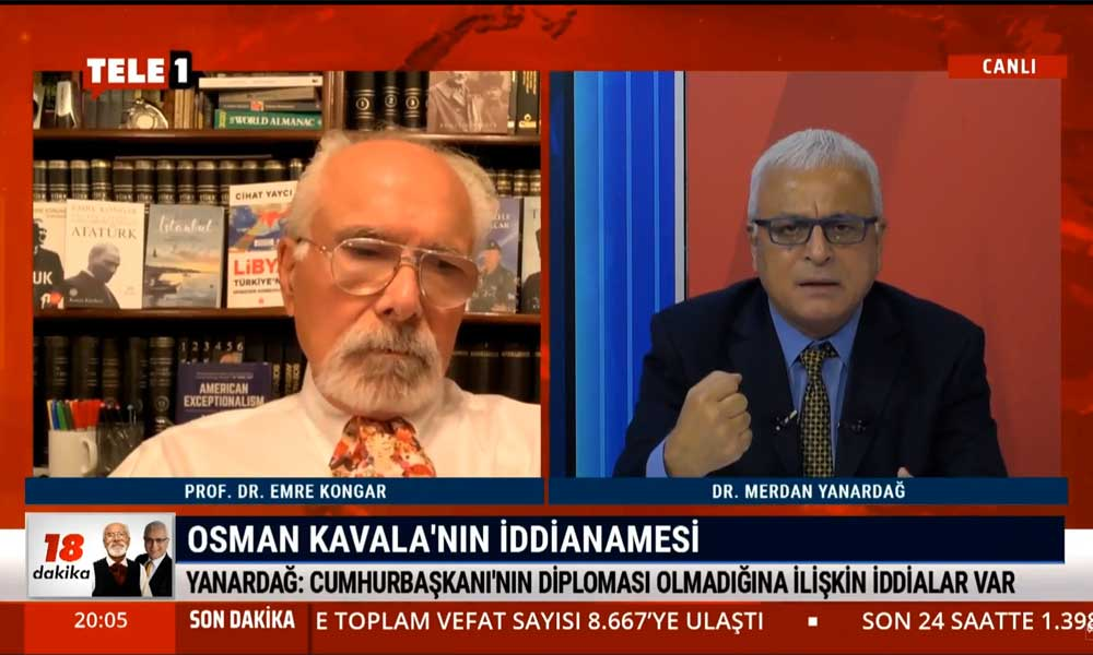 Merdan Yanardağ: Bu iddianame Osman Kavala'nın haksız yere tutuklandığının belgesidir