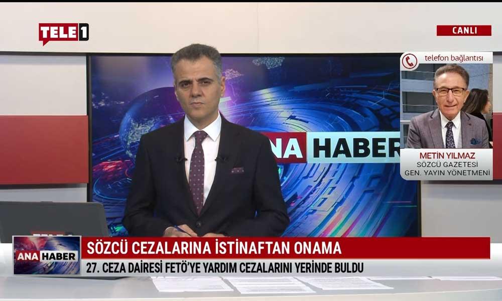 Sözcü gazetesi Genel Yayın Yönetmeni Metin Yılmaz: FETÖ'ye yardım ettiğimize dair tek bir delil dosyada yok
