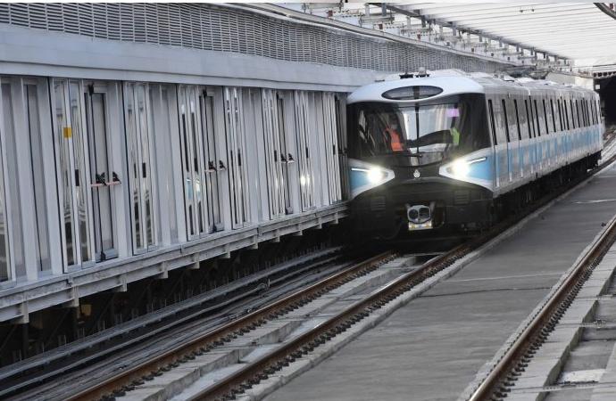 İmamoğlu startı verdi! Mecidiyeköy-Mahmutbey Metrosu seferlerine başladı