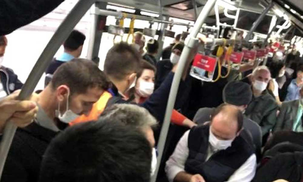 İstanbul'a yeni korona yasağı… Toplu taşımaya binemeyecekler