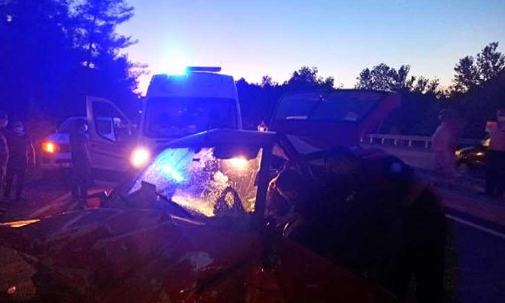Muğla'da trafik kazası: 1 ölü, 1 yaralı