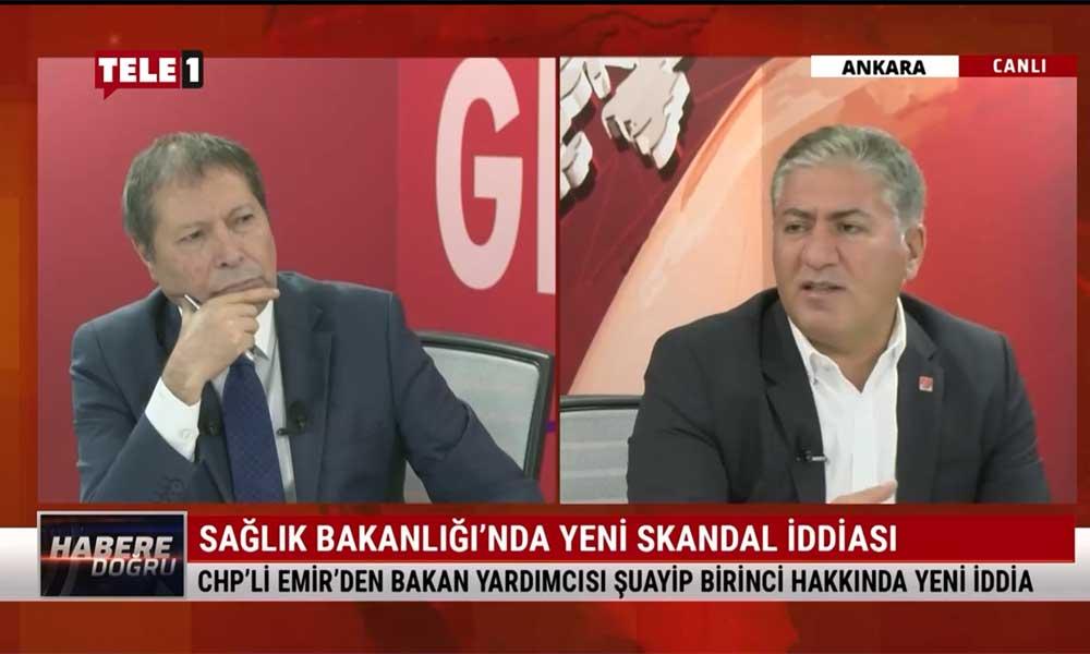 CHP Ankara Milletvekili Murat Emir: Bu kişinin toplayıp verdiği verileri açıklıyor Bakan, nasıl güveniyor?