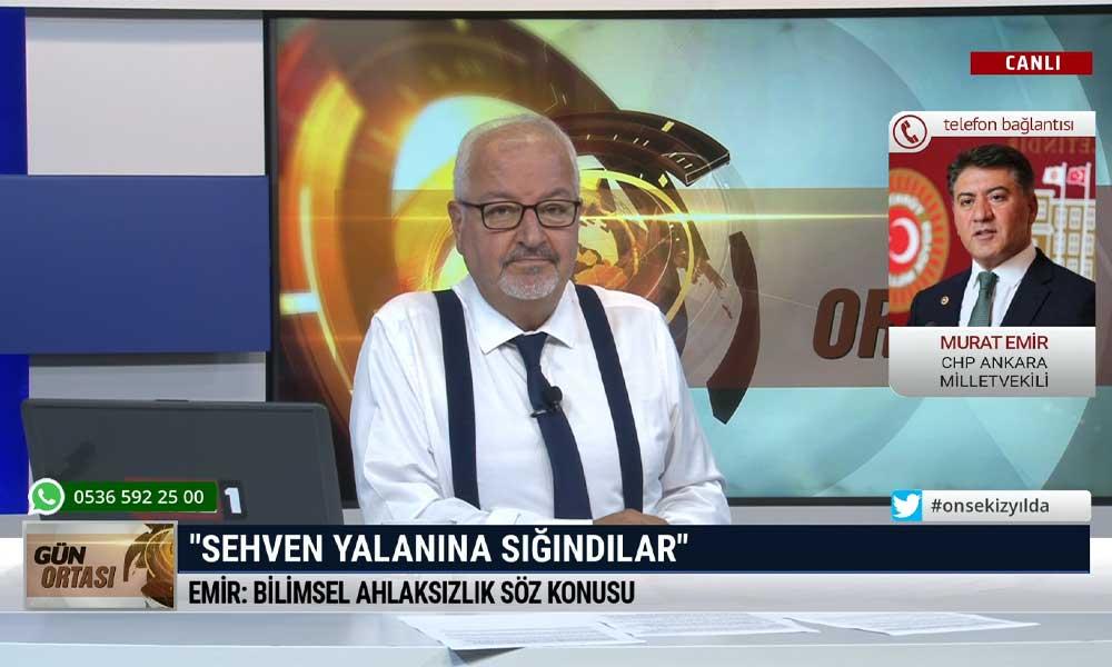 CHP Ankara Milletvekili Murat Emir: Fahrettin Koca'nın gerçek gazetecilerin karşısına çıkma olanağı kalmadı