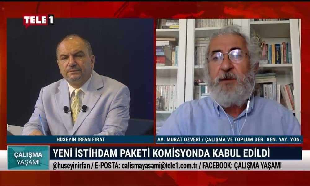 Çalışma Yaşamı'nın bu haftaki konuğu Avukat Murat Özveri