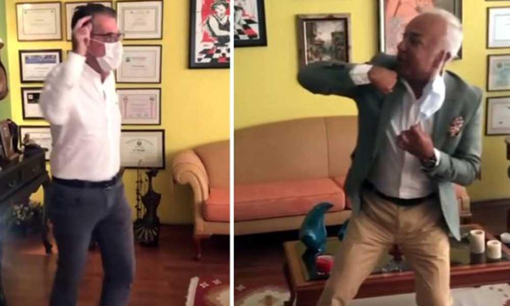 İki doktorun Tiktok dansı tepki çekti