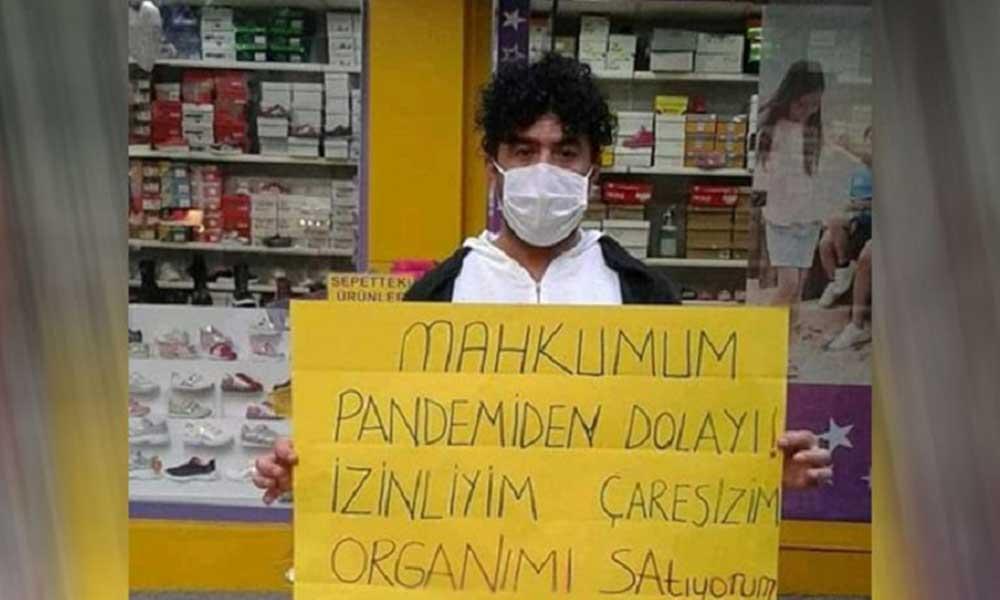 Geçim sıkıntısından organını satıyor