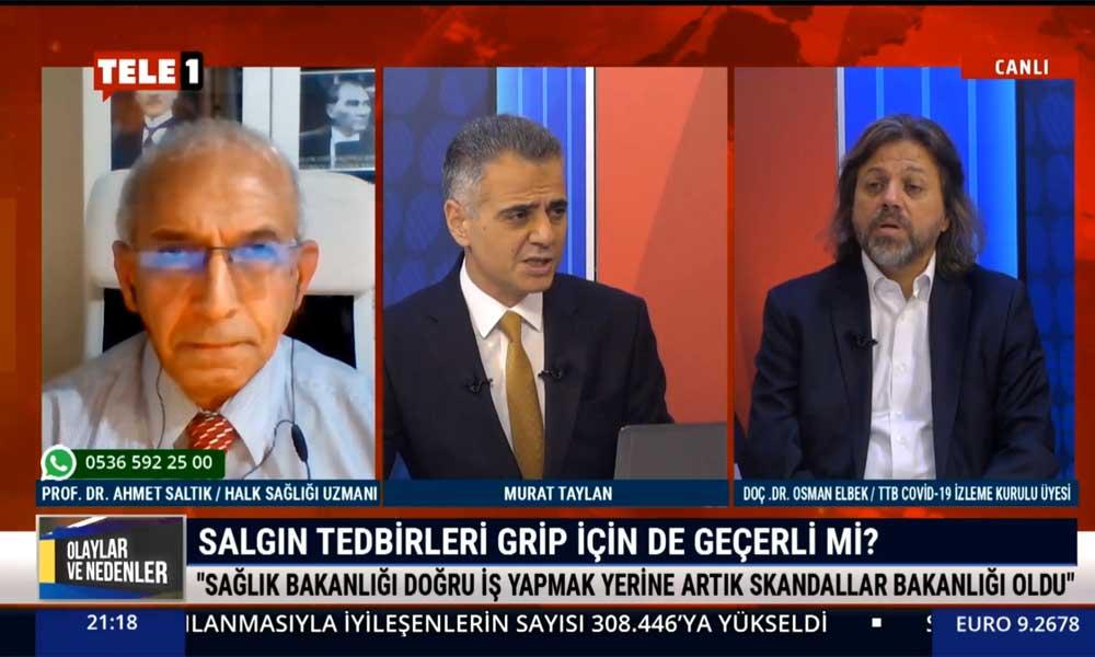 Doç. Dr. Osman Elbek: Grip aşısının yetersizliği sağlık emekçilerine şiddet olarak yansıyacak