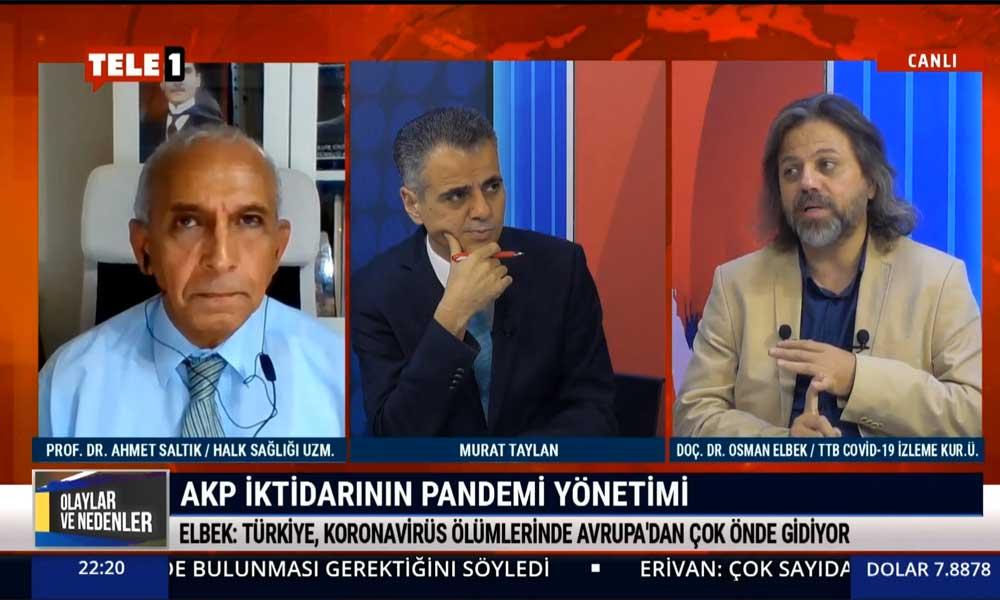 TTB Koronavirüs İzleme Kurulu üyesi Doç. Dr. Osman Elbek: Koronavirüs Türkiye'de öldürüyor, bu çok açık