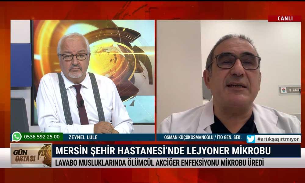 İTO Genel Sekreteri Osman Küçükosmanoğlu: Fahrettin Koca öğrencim olsa sınavı geçirmem