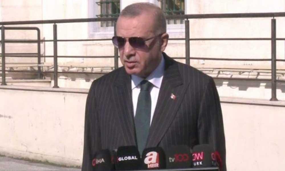 """""""Koronavirüs kısıtlamaları gelecek mi?"""" sorusuna Erdoğan'dan flaş cevap"""