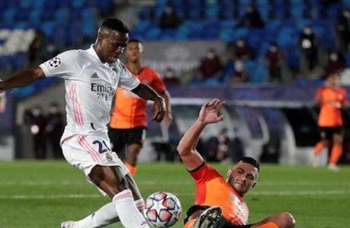 Real Madrid'e Shakhtar şoku