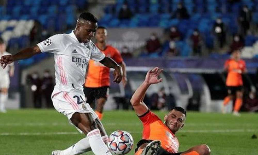 Real Madrid'e Shakhtar şoku