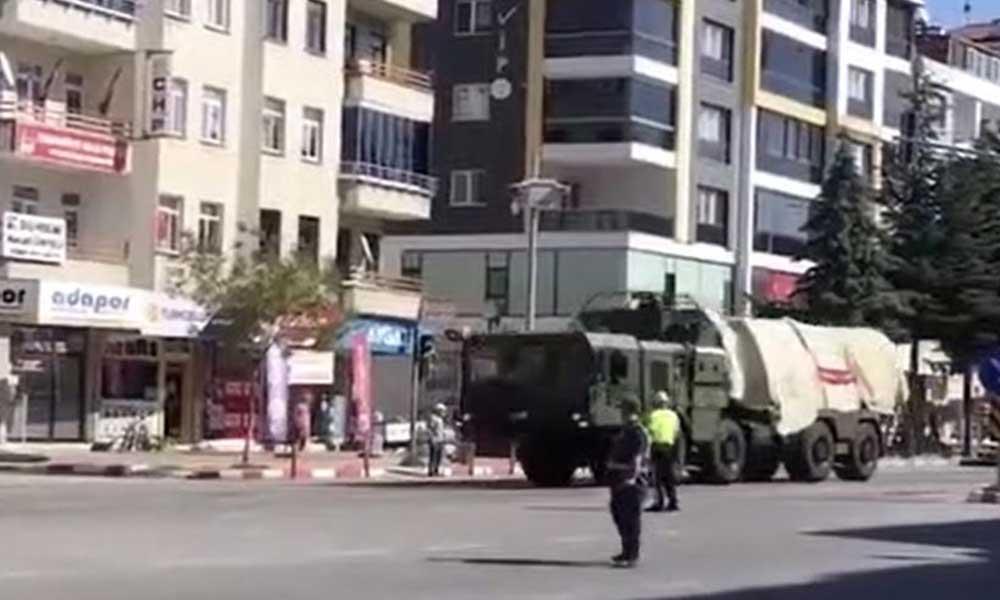 S-400'ler Sinop'a götürüldü