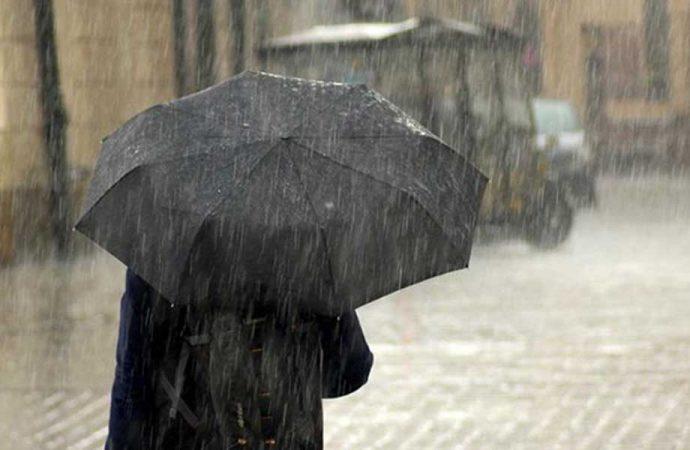Meteoroloji'den 4 il için sağanak yağmur uyarısı!
