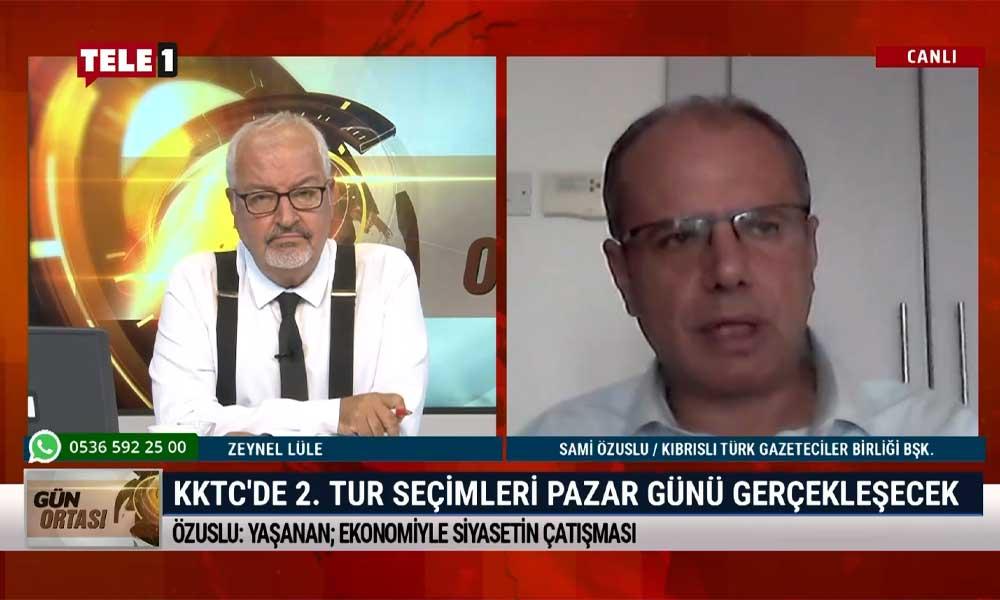 Sami Özuslu: Kuzey Kıbrıs'ta cumhurbaşkanlığı seçimi öncesi Türkiye'yi sevenler, sevmeyenler kutuplaşması yaratıldı