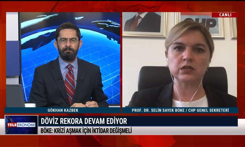 Selin Sayek Böke: Merkez Bankası öngörü dahi oluşturmayı beceremiyor