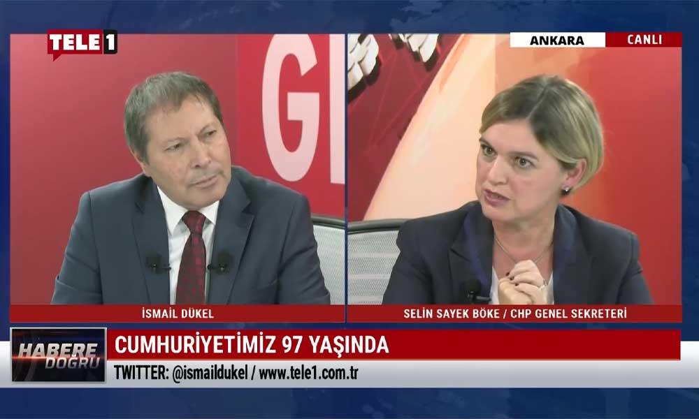 Selin Sayek Böke: AKP iktidarı Cumhuriyet'in ilkeleriyle açıktan kavga ediyor
