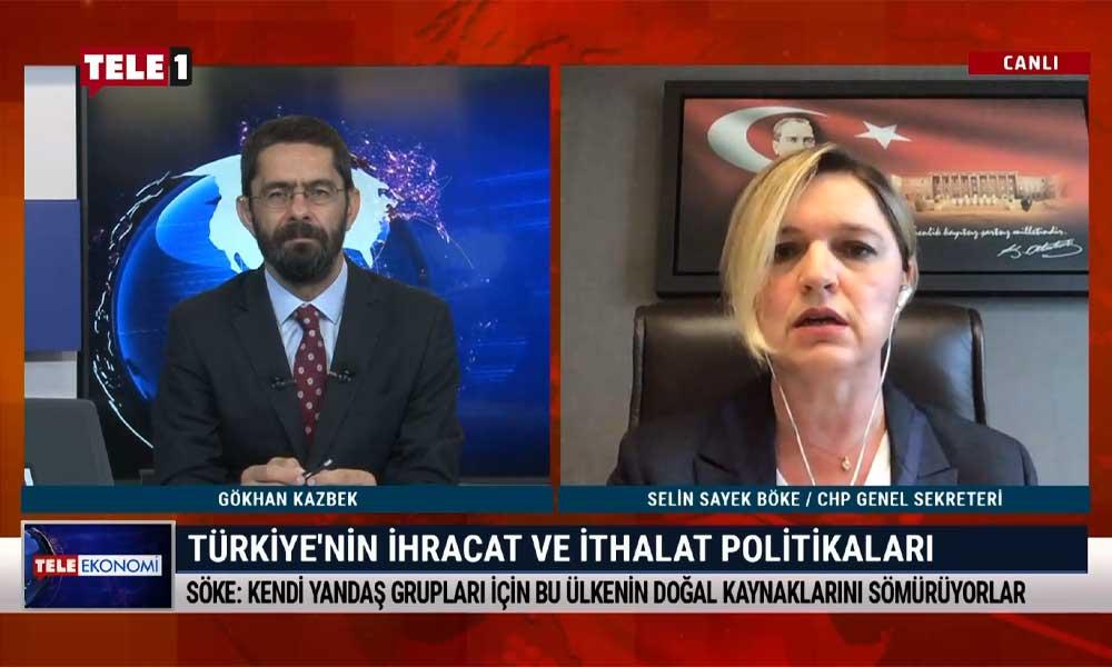 CHP Genel Sekreteri Selin Sayek Böke: TL'nin değer kaybı ağır bir fakirleşme anlamına geliyor