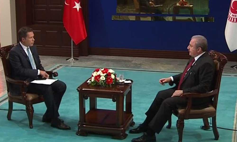 Meclis Başkanı Şentop: AYM'nin Berberoğlu kararı bağlayıcıdır
