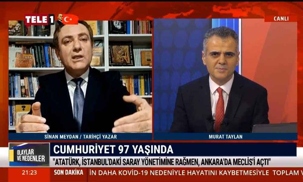Sinan Meydan: Arkadaşları '3. Meşrutiyet'i hayal ederken Mustafa Kemal Cumhuriyet'i düşünüyordu