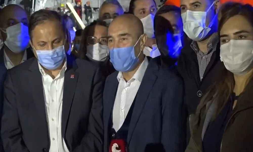 Tunç Soyer afet bölgesinden son bilgileri paylaştı: İzmirlilere uyarılarda bulundu