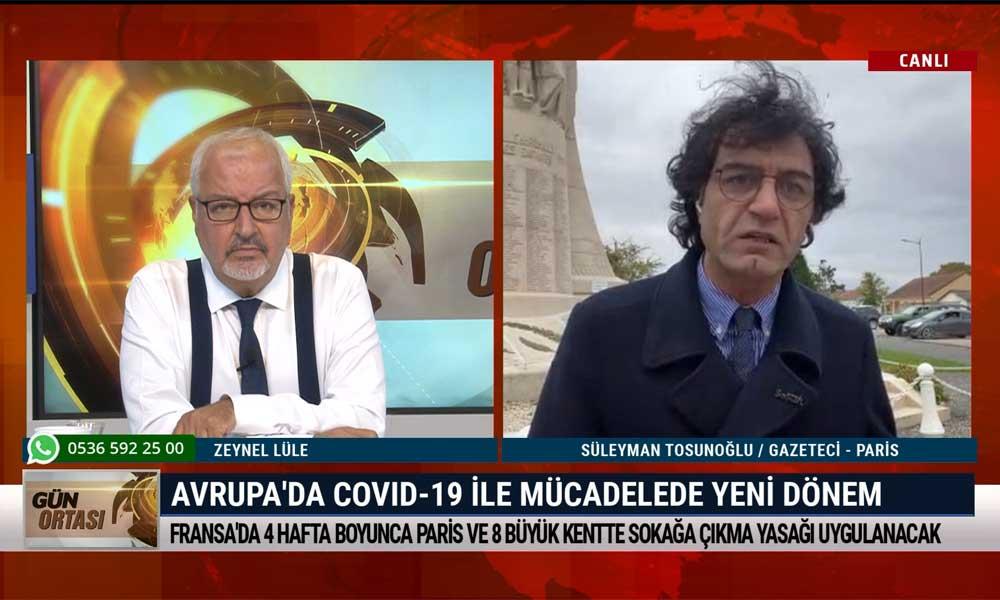 Gazeteci Süleyman Tosunoğlu: Toplumun bir kesimi Fransa'da oldukça endişeli