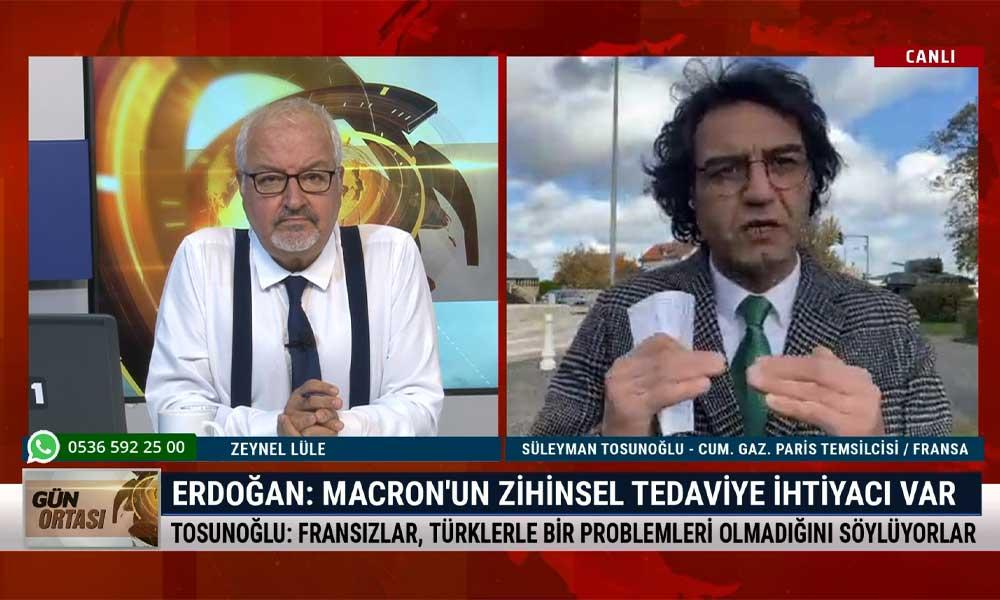 Süleyman Tosunoğlu: Fransa, Atatürk'ü örnek alarak din yasası hazırlıyor