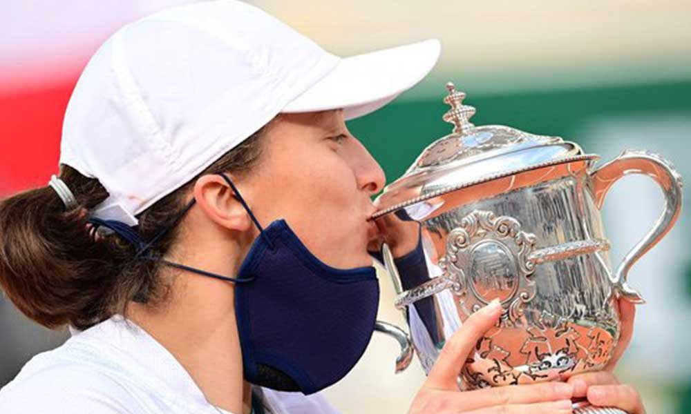 Fransa Açık'ta tek kadınlar şampiyonu Polonyalı Iga Swiatek oldu!