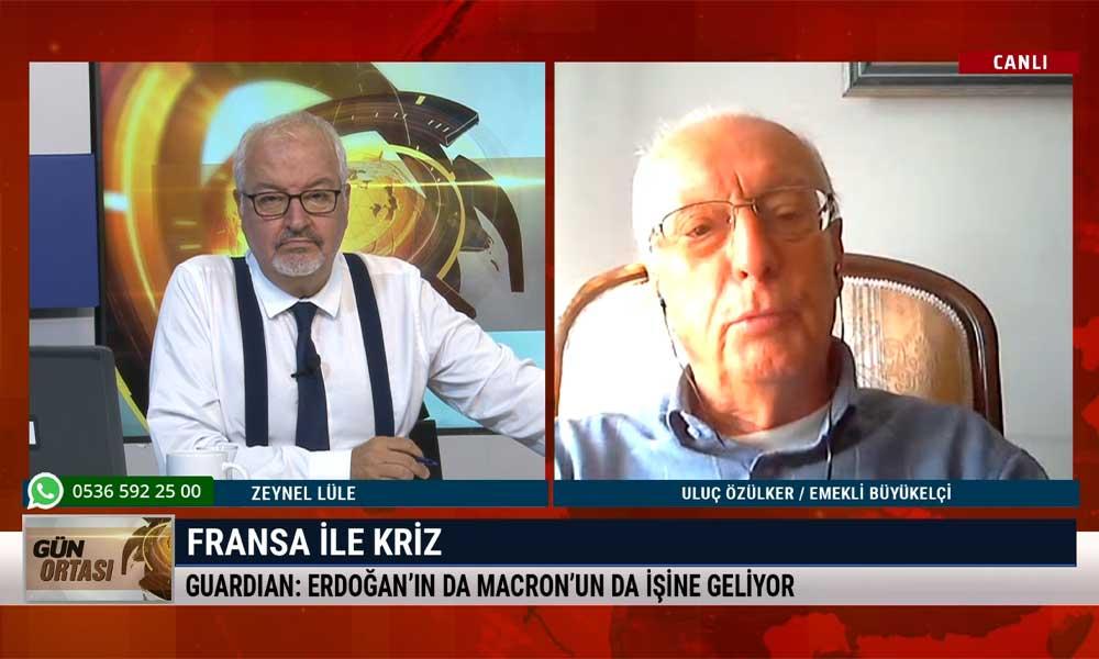 Emekli Büyükelçi Uluç Özülker: Liderler içeride sıkıştıklarında kurtuluş arar