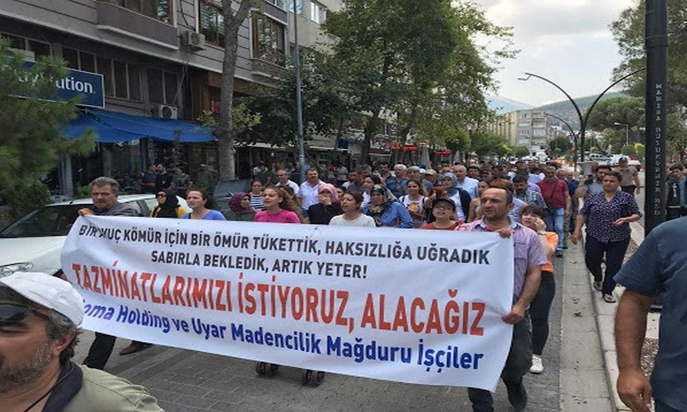 AKP'li Zengin ile görüşen madencilere polis engeli!