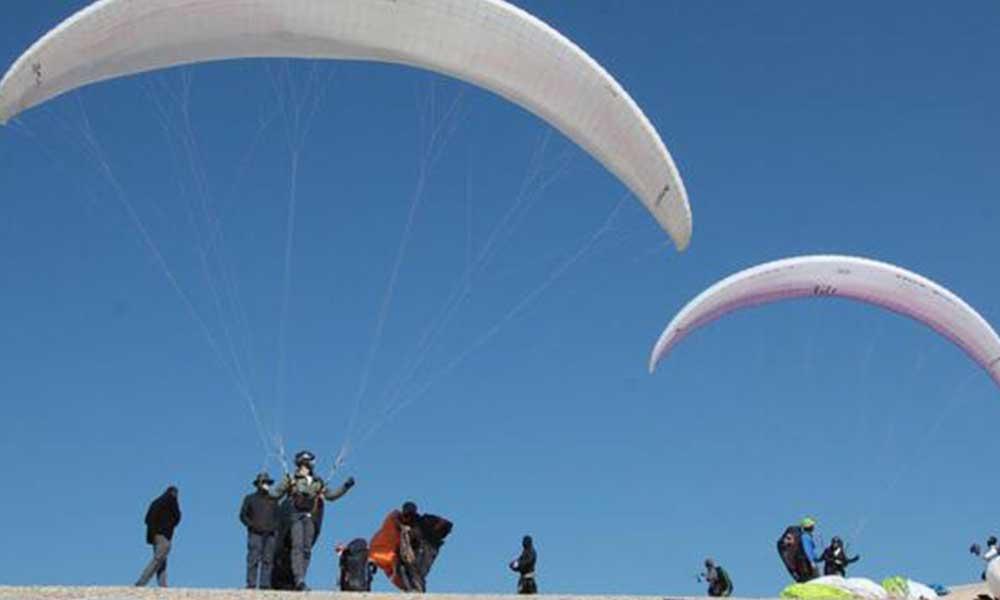Ankara'ya yeni yamaç paraşütü pisti