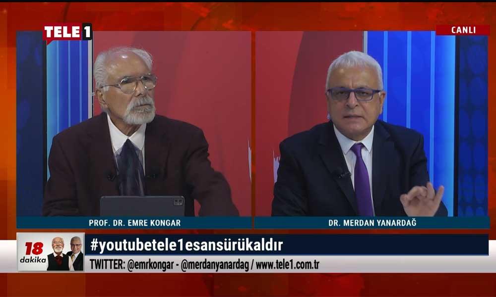 Merdan Yanardağ'dan YouTube Türkiye'ye çok sert sansür tepkisi: Ya AKP'nin uşağısınız ya da akılsız