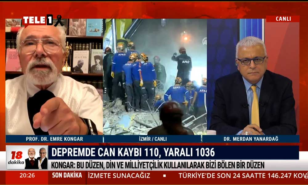 Merdan Yanardağ: Kanal İstanbul'u yapmaya inat sergileyen iktidar, İstanbul depremine ne yapıyor? – 18 DAKİKA