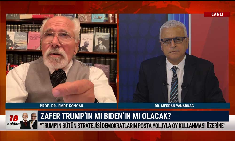 Merdan Yanardağ: ABD seçim sonuçları Erdoğan-AKP iktidarının kaderini etkileyecek – 18 DAKİKA