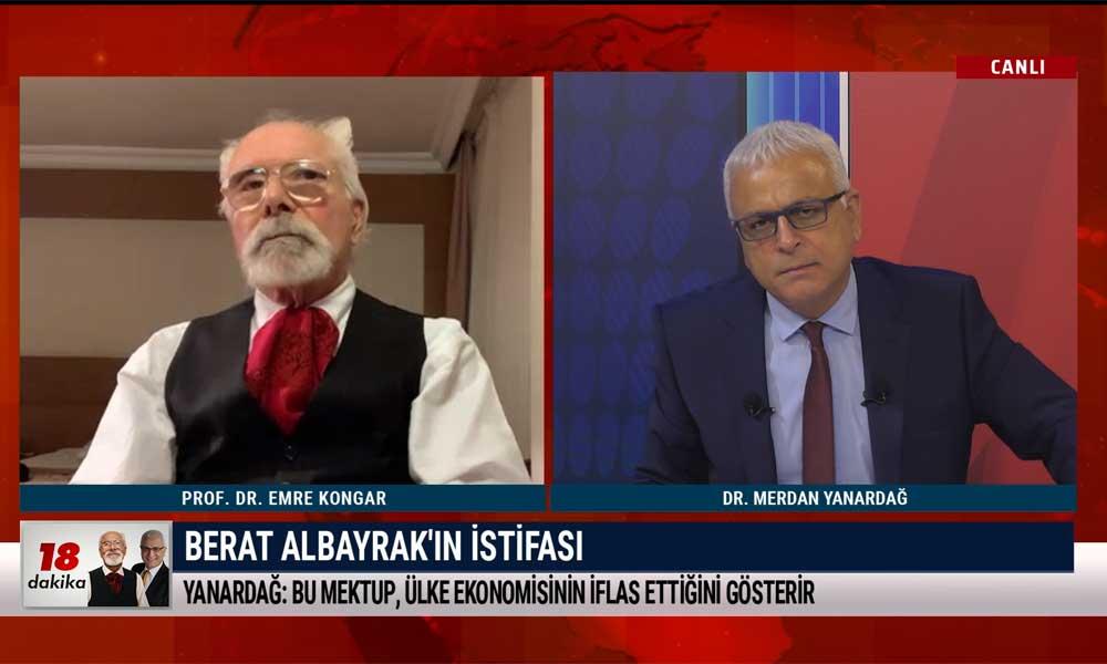 Merdan Yanardağ: Berat Albayrak'ın istifası bir vezirin feda edilmesidir