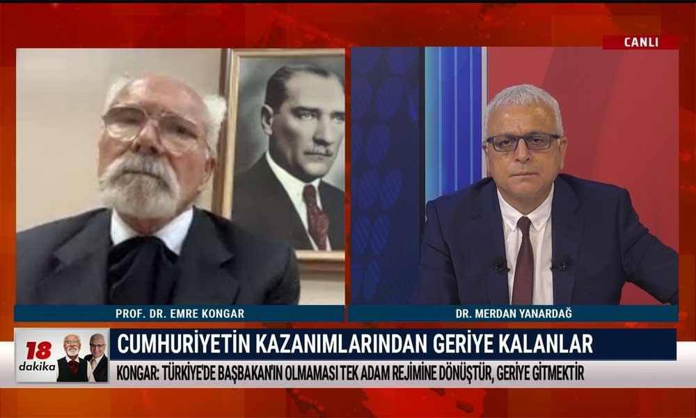 Merdan Yanardağ: Bugünkü temel sorun; Türkiye akıl ve bilimle yönetilmiyor