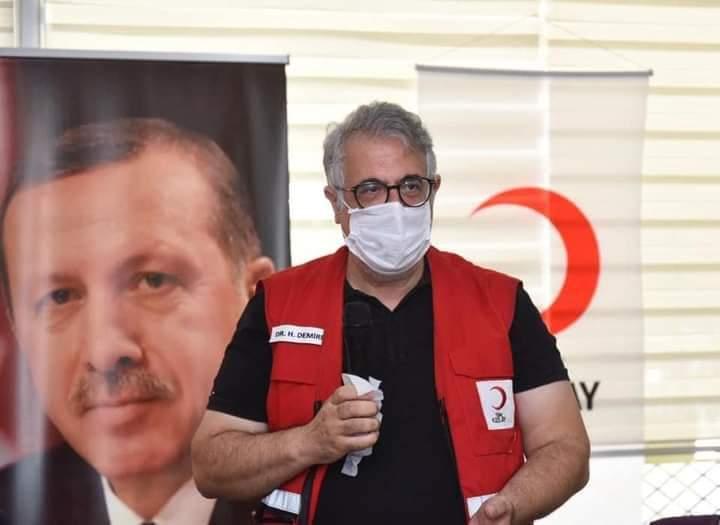 Kızılay şube başkanı, koronavirüs nedeniyle hayatını kaybetti
