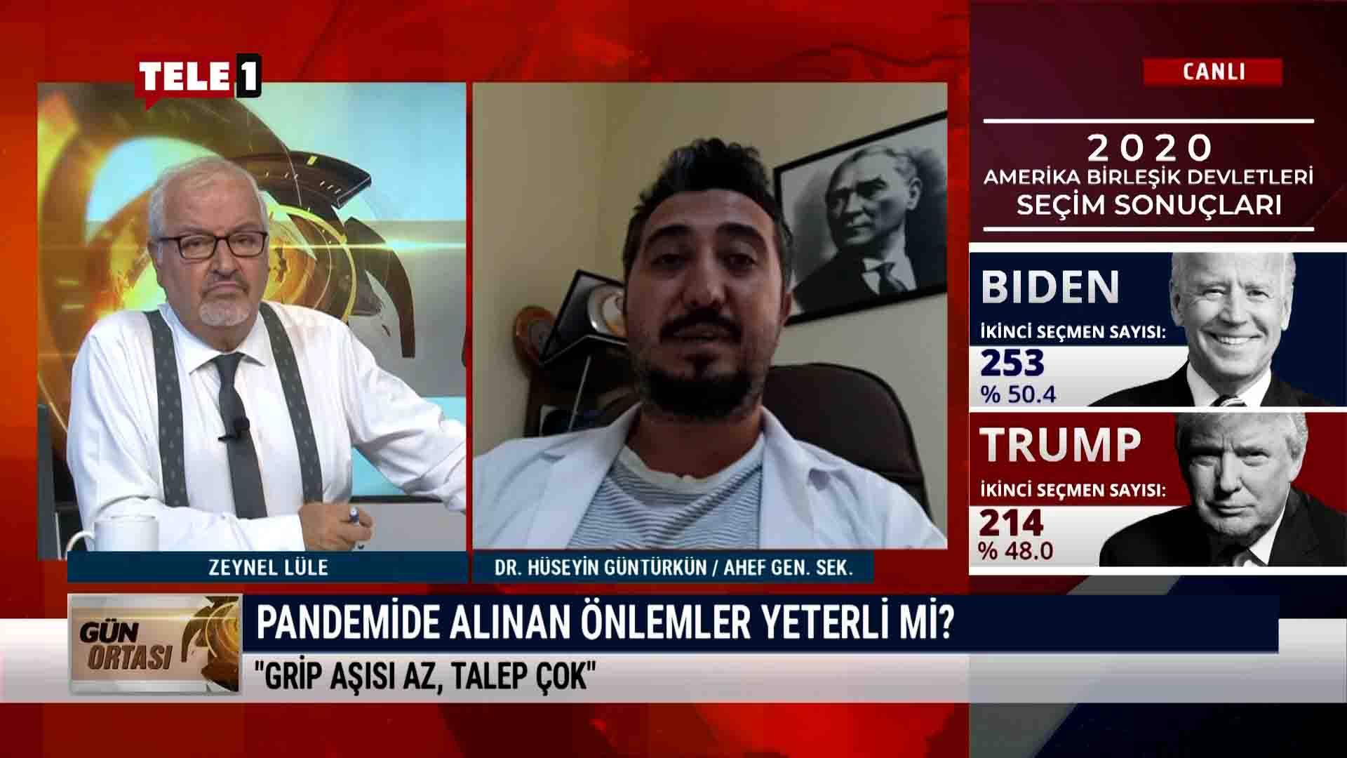 AHEF Genel Sekreteri Dr. Hüseyin Güntürkün pandemi sürecini anlattı