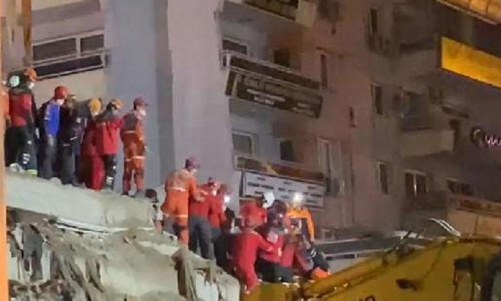 Depremden 33 saat sonra mucize kurtuluş